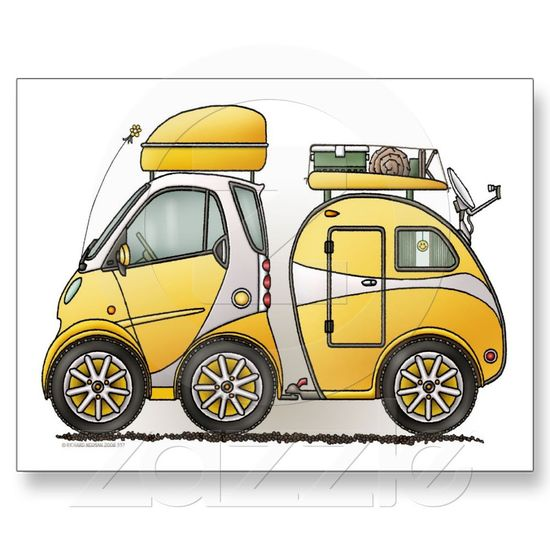 Smart car and trailer