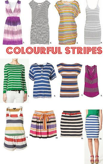 Striped Clothing For Summer