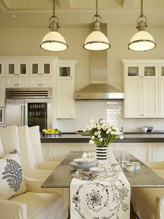 Beautiful kitchens.