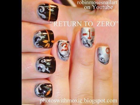 Return to Zero Nail Art
