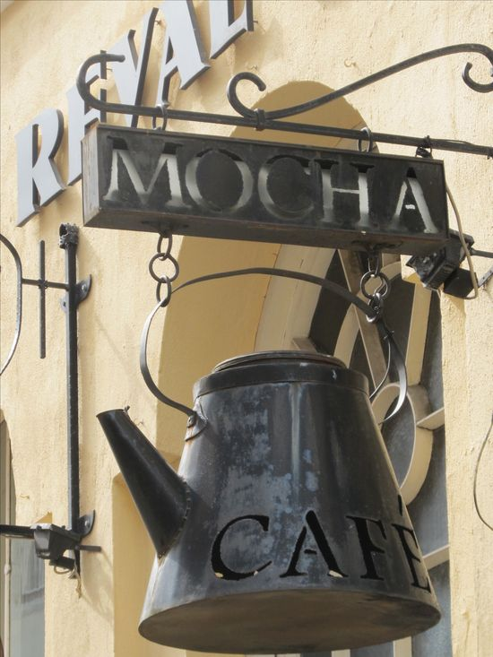 .Coffee shop.