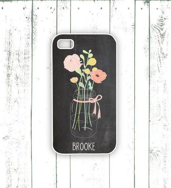 Mason Jar iPhone - ackkk - so stinking cute!!