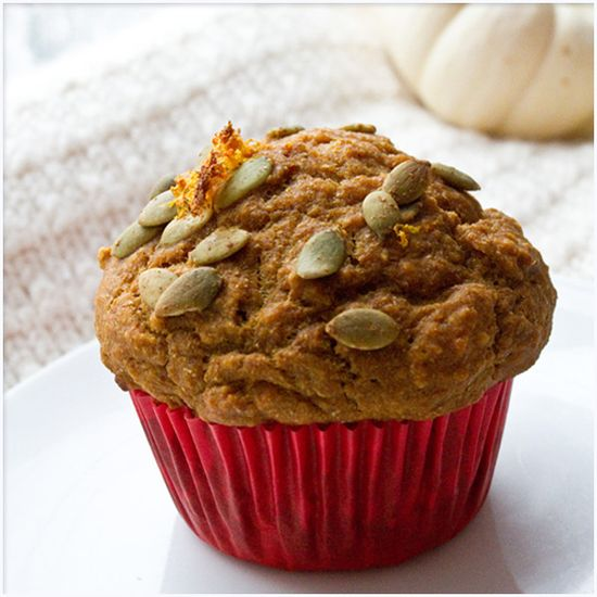Spiced Up Pumpkin Muffins #vegan