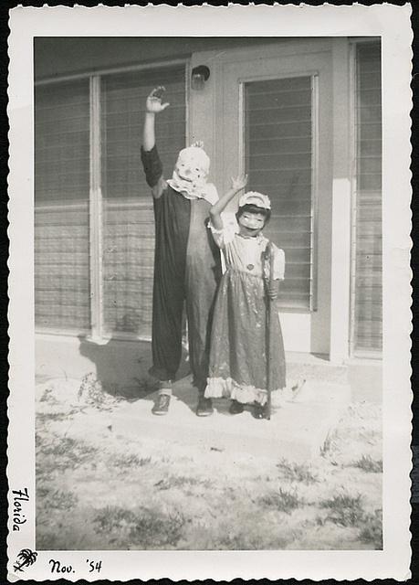 Halloween Kids-Florida 1954....