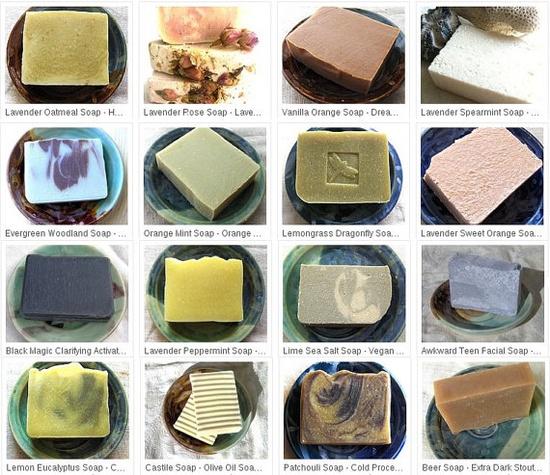 6 Handmade Soaps  Soap Set  Natural Soap Handmade  by AquarianBath,
