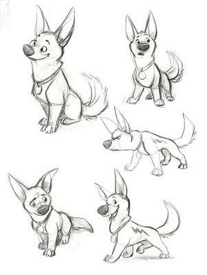 Character Design- Bolt