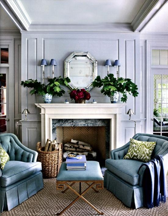 Beautiful Fireplace Styling