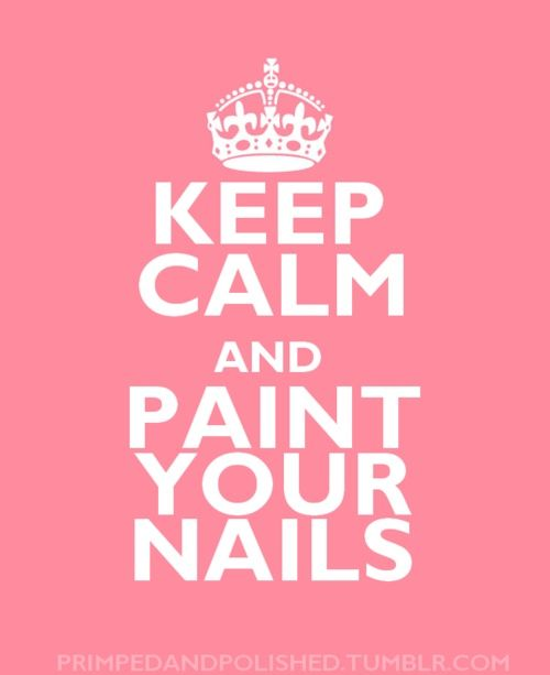 paint your nails...