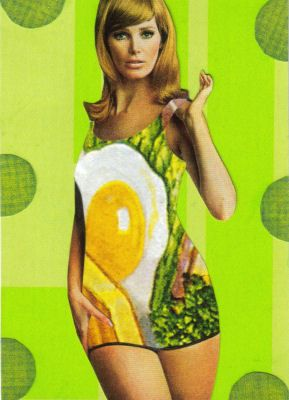 food dress 1960s. image from dadadreams Flickr