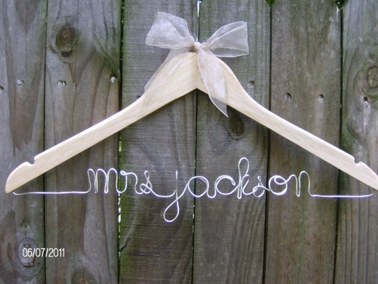 for wedding dress...Too CUTE!
