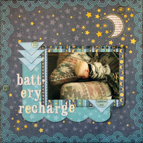 Battery Recharge *DCWV* - Scrapbook.com