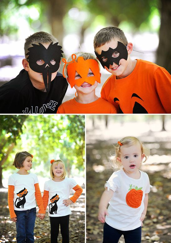 Bright & Modern Kids Halloween Party Ideas
