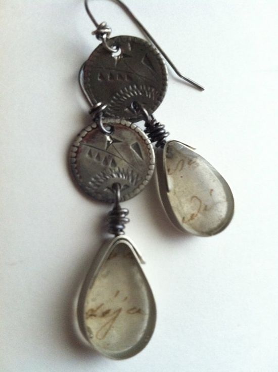 Everyday Earrings by romanticdecay on Etsy, $30.00