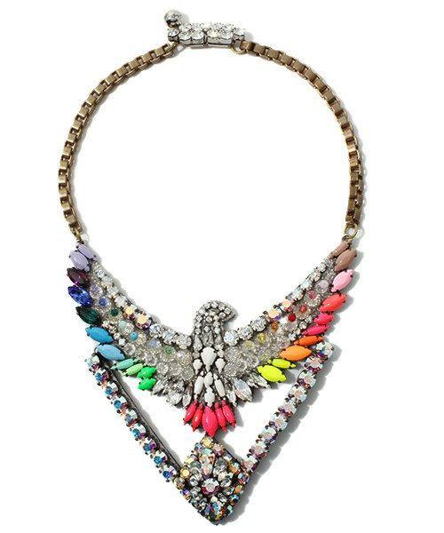 Phoenix Dorado Necklace