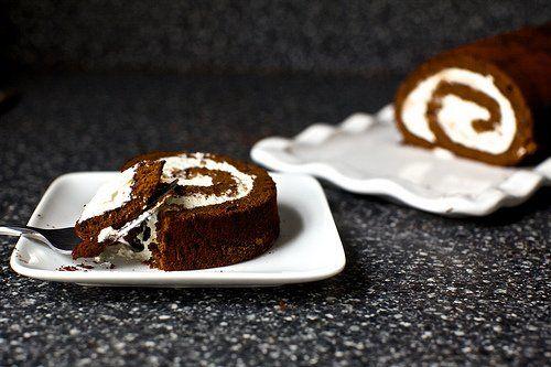 Heavenly Chocolate Cake Roll