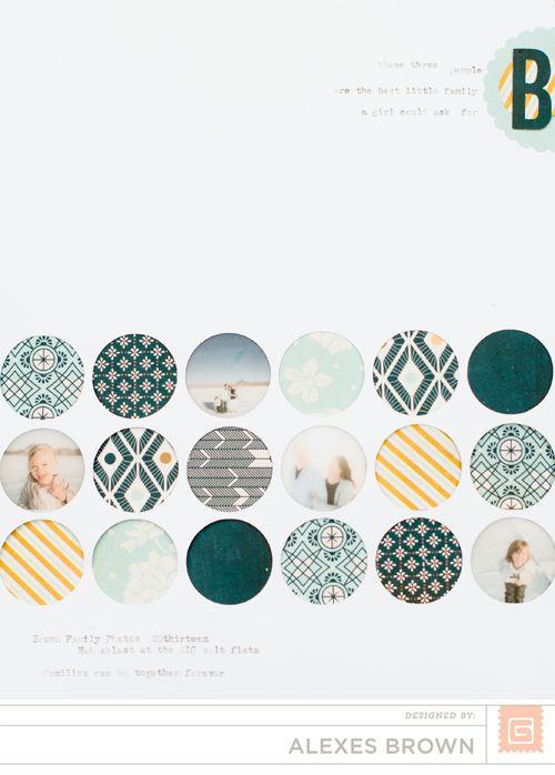Circles by Alexes Brown - Scrapbook.com