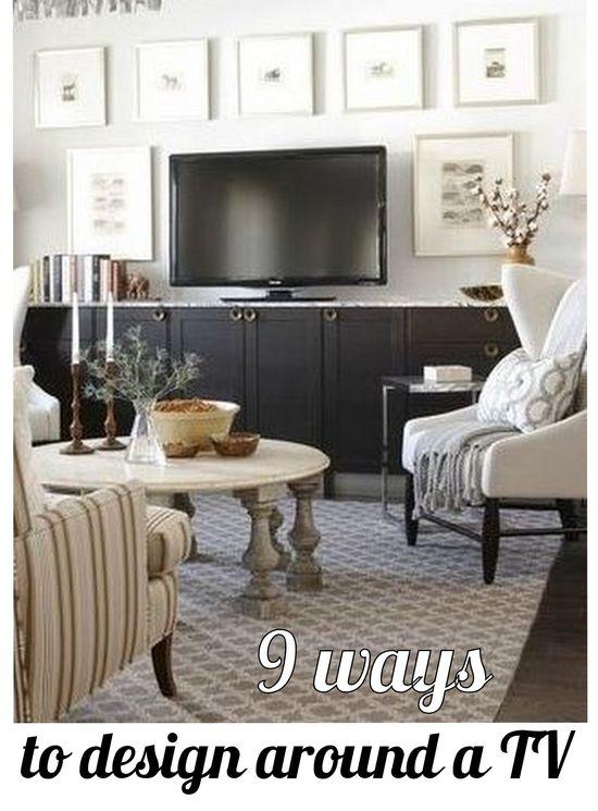9 Ways to Design Around a TV