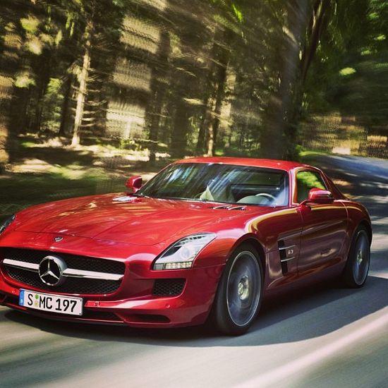 Mercedes SLS AMG is in my top list of favorite cars