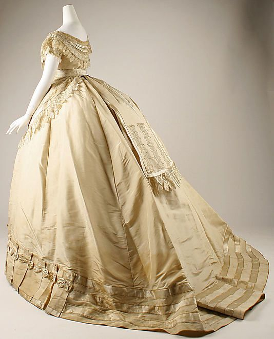 Dress, 1867, French - the MET