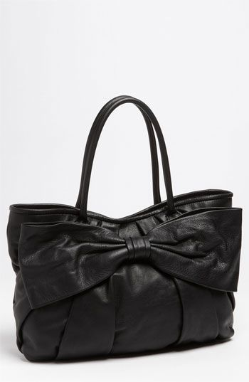 """RED Valentino """"Bow"""" Leather Satchel"""