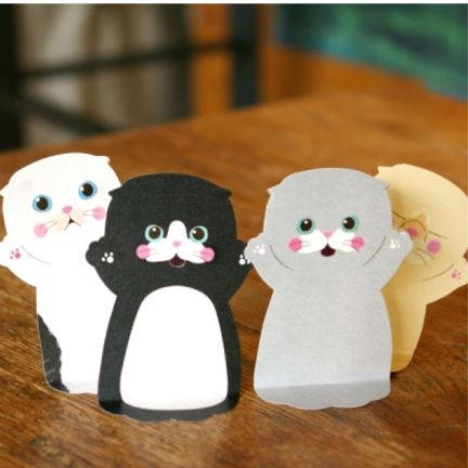 Baby Cat Sticky Notes by Mochi Things