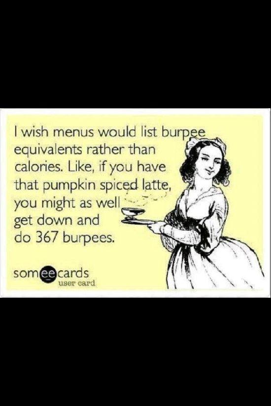 Ugh, burpees.
