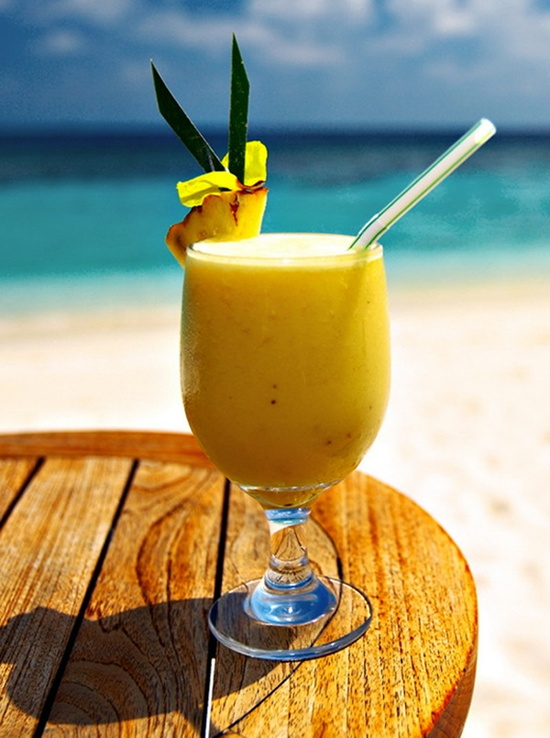A beautiful view to accompany your frosty #drink #CheapCaribbean #CCBucketList