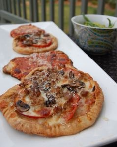 homemade whole wheat pizza...100 Days of Real Food