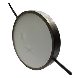 Christophe Burger  'Pendant X' 2004 Pendant - silver, plastic