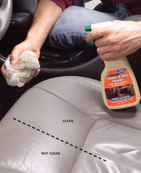 Tips for cleaning the car.