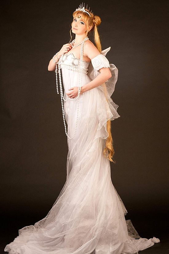 Princess Serenity -- pretty impressive cosplay