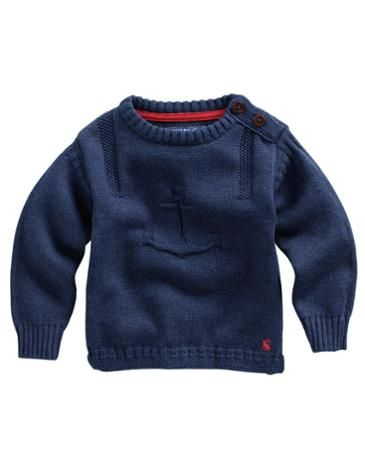 BABY ANCHOR Baby Boys Knitted Jumper #joules #christmas #wishlist