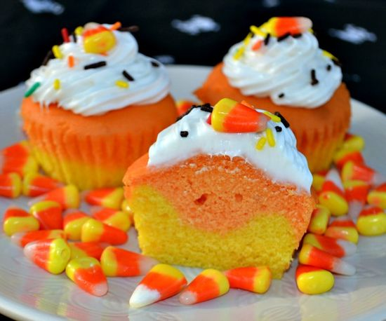 Candy Corn Cupcakes - Making these!!
