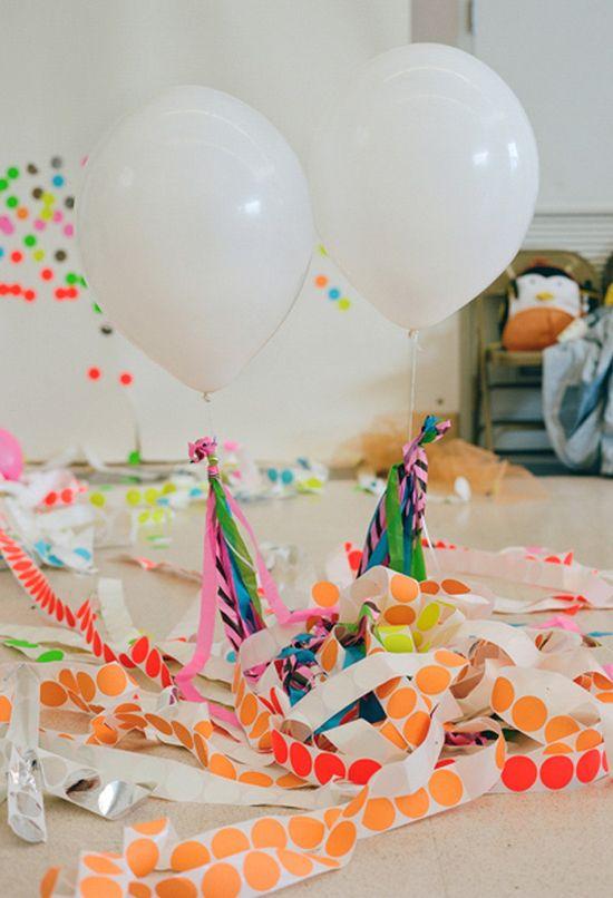 neon birthday party