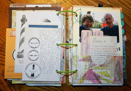#art #journal #scrapbook