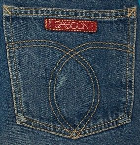 1980's Sasson Jeans..had to have them!