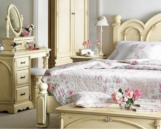 Amazing Shabby Chic Bedroom Furniture : - ideasforho.me/... -  #home decor #design #home decor ideas #living room #bedroom #kitchen #bathroom #interior ideas