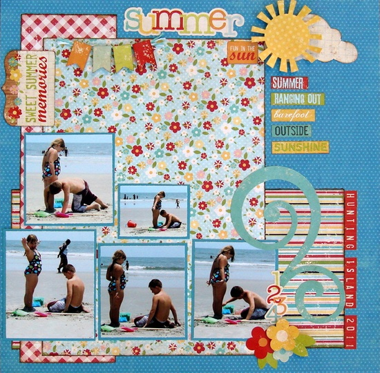 summer fun in the sun - Scrapbook.com