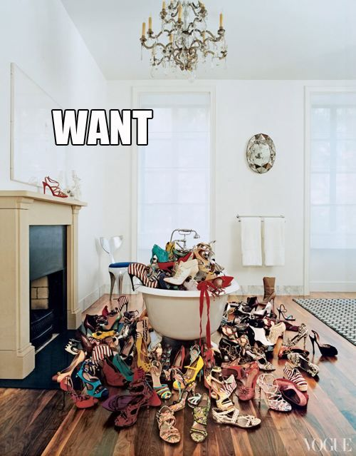 want all the shoes