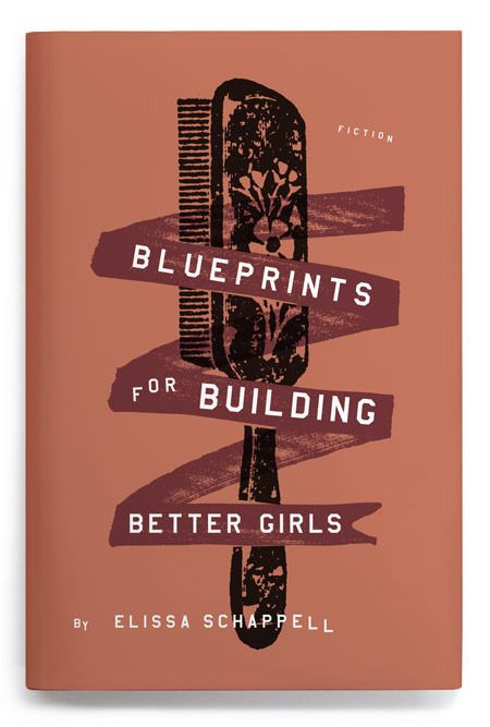 Blueprints For Building Better Girls Cover #Book #Design #Cover