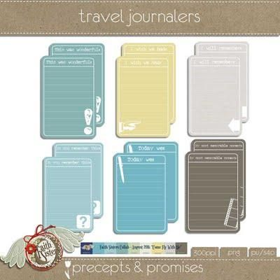 Travel Journal cards