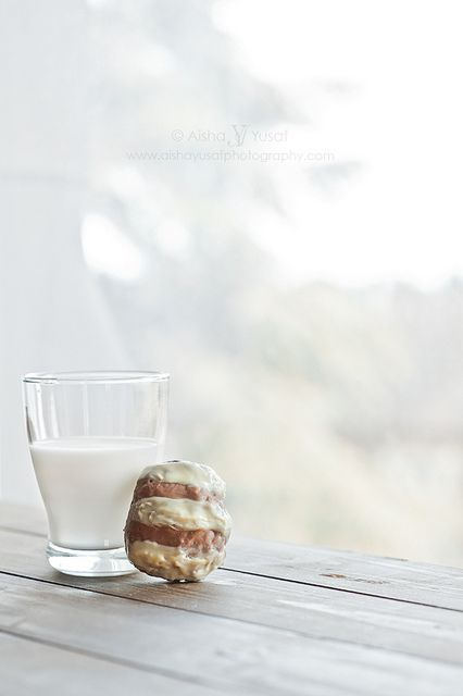 Milk and Apple Cookie... by aisha.yusaf, via Flickr