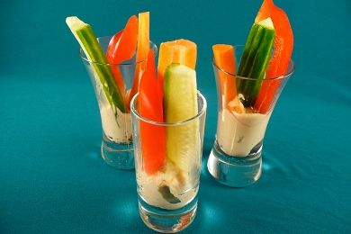 eTry This New Year's Snack: Veggie Shots