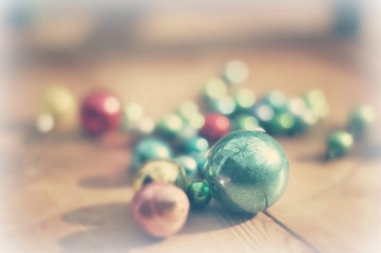 Pastel Christmas ornaments!!!