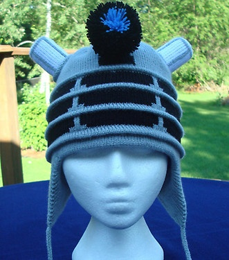 Doctor Who :: Keep your noggin warm and hateful this winter! YES. This I NEED. www.etsy.com/...