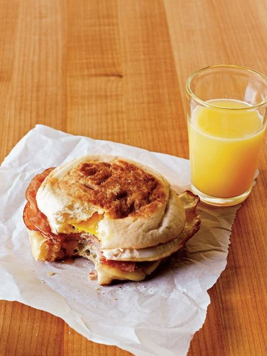Breakfasts for champions: Healthful meals on the run