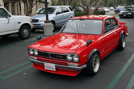 Nissan Skyline KGC10 GT-X