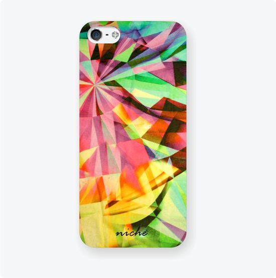 Neon Fling iPhone Cover, Rs. 650