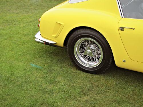 yellow car via Douglas Friedman