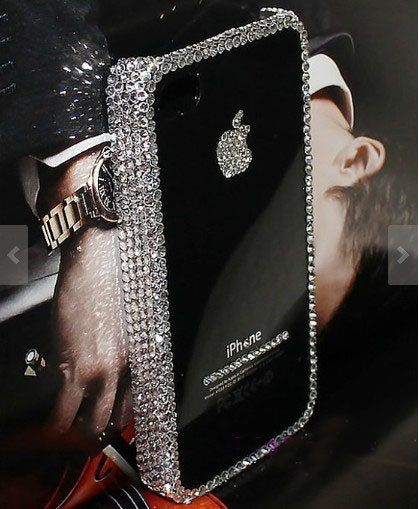 luxury iphone 5c case iphone 5s case bling by Luxuryphonecase88, $13.99